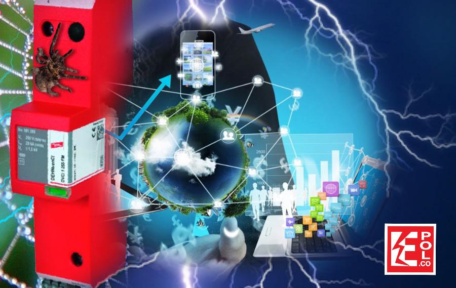 Tecnologías DPS supresor eléctrico pararrayos
